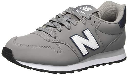 New Balance Damen 500 Sneaker, Grau (Marblehead/Irredescent/White Gir), 39 EU