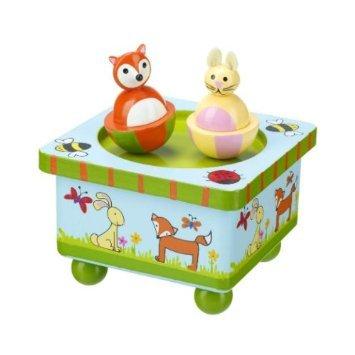 Orange Tree - Woodland Friends - Wooden Music Box
