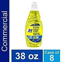 Joy 45114 Lemon Scent Manual Pot and Pan Detergent, 38 Ounces (Case of 8)