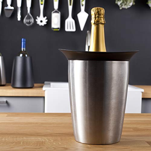 Vacu Vin - 3647360 Aktiv Champagnerkühler Elegant Edelstahl