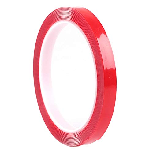 Chansted Doppelseitige wasserdichte transparente Klebebänder Aufkleber (1 mm * 30mm * 3m) -