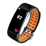 TESITE AktivitäTs- / Fitness-Tracker-HerzfrequenzmessgeräT FüR MäNner Und Frauen Wasserdichtes Smart-Armband