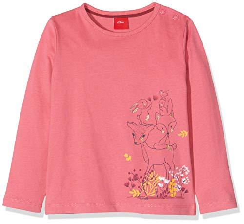 s.Oliver Baby-Mädchen 65.909.31.8962 T-Shirt, Rosa (Pink 4543), Herstellergröße: 86 -