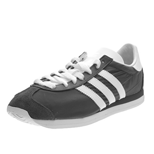 lowest price 906c8 c6add Adidas - Country OG W - S32201 - El Color Negro-Blanco - Talla 40.6