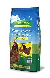 Copdock Mill Range Layers Pellets Plus Verm X, 20 Kg, Pack of 1