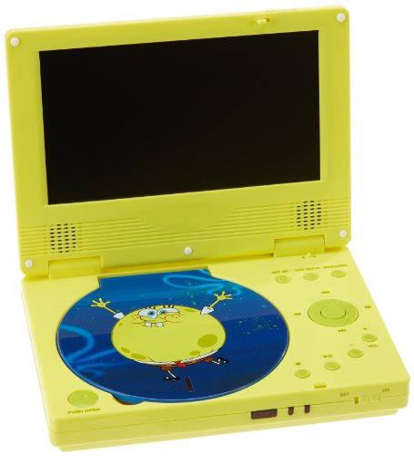Preisvergleich Produktbild Linmark SBPDVD0902 - Tragbarer DVD Spieler SpongeBob