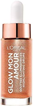 L'Oréal Paris Glow Mon Amour Highlighter, 02 Loving Peach,