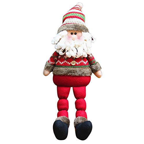 (Weihnachtspuppe Weihnachtsschmuck Weihnachten Stoffpuppen, Weihnachtsfeier Zubehör Innovative Halloween Geschenk Party, Hochzeit, Wohnkultur Geschenk Mehrere Stile)