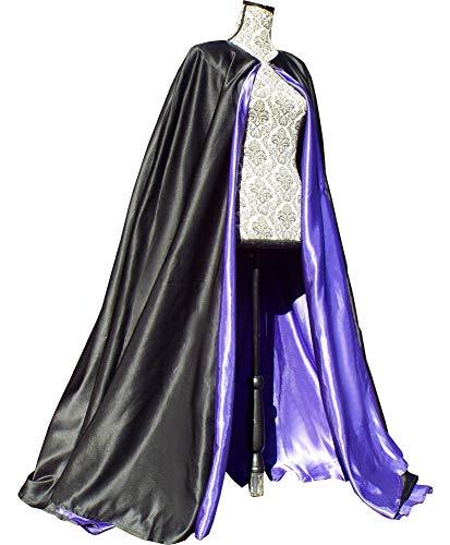 ShineGown Reversible Umhang Unisex Halloween Cape Mantel Teufel Wizard Lange Erwachsene Kinder Cosplay Kostuem Kleid Robe Masquerade Fuer Weihnachts ()