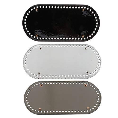 IPOTCH 3er Set PU Base Shaper Einlegeboden für Tasche Damentasche Handtasche Taschenboden