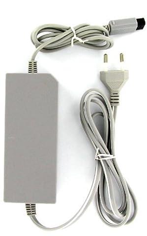 Kabalo AC Adaptateur secteur, Alimentation (avec l'UE fiche à deux broches) Lead / câble: pour Nintendo Wii Console [AC Mains Adapter, Power Supply (with EU 2-pin plug) Lead/Cable: for Nintendo Wii Console ]