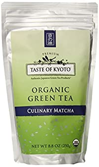 TASTE OF KYOTO Matcha Green Tea, Bulk Culinary, 8.80 Ounce