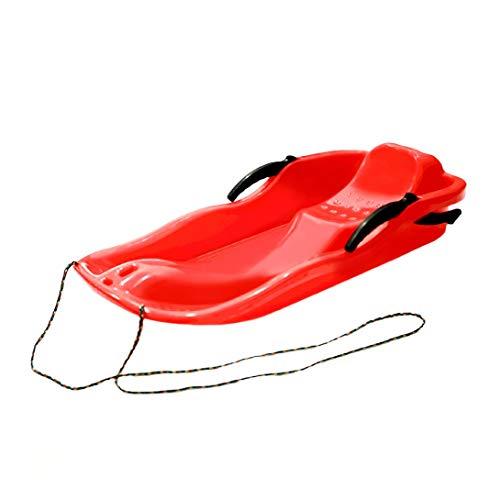 Swiftswan Sports de plein air En Plastique De Ski Conseils Luge Luge Neige Herbe Sable Conseil De Ski Pad Snowboard Avec Corde Pour Double Personnes