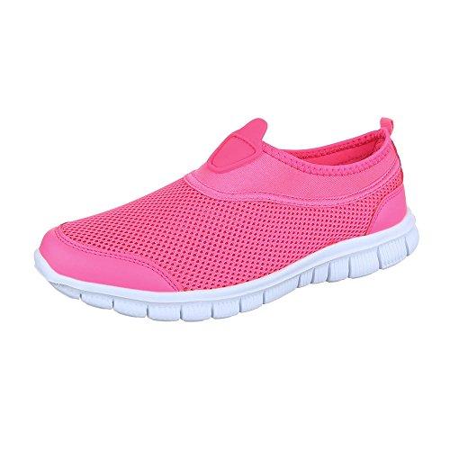 Baixo-top Mulheres Sapatilha Sapatilhas Cor-de-projeto Ital Sapatos Casuais