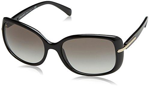 Prada 0PR 08OS, Occhiali da Sole Donna, Nero (Black), 60