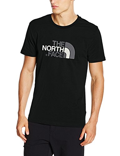 The north face t-shirt easy, uomo, tnf black, m