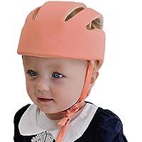 ABUSA-Sandaletti da bambino, con casco di sicurezza per bambini, cappello a gattonare per ciclismo