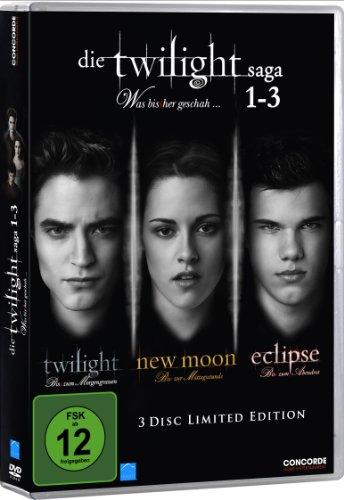 Concorde Video Die Twilight Saga 1-3 - Was bis(s)her geschah... [Limited Edition] [3 DVDs]