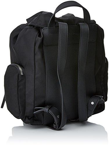 Asequible Venta Barata Explorar Calvin Klein Edith Backpack Donna Handbag Nero Nero (Black) Manchester Libre Del Envío pewvaUl4GN
