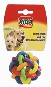 Riga - 2996 - Sphère Caoutchouc Petit Modelé - Jouet Chien