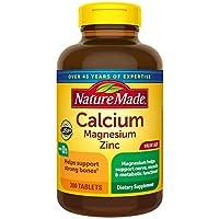 Nature Made Calcium Magnesium Zinc with Vitamin D3-300 Tablets