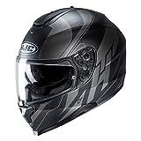 HJC 15127509 Motorrad Helm Schwarz/Anthracite L