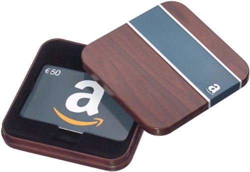 Amazon.de Geschenkkarte in Geschenkbox - 50 EUR (Retro)