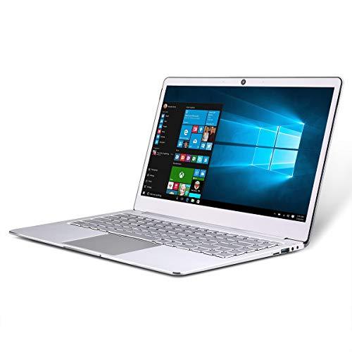 JUMPER EZbook X4 Notebook -14 Pulgadas (Portátil Bueno de Windows 10 Home,Intel Gemini Lake N4100, Quad Core 1.1GHz, 4GB RAM + 128GB SSD) Portátil Plata