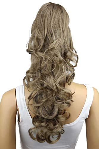 PRETTYSHOP Haarteil Hair Piece Zopf Pferdeschwanz ca 60cm Hitzebeständig wie Echthaar div. Farben H47