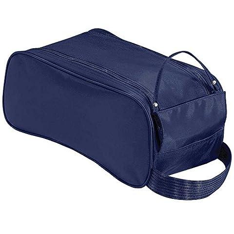 De bonne qualité Unisexe adultes Sports de football aux couleurs de coffre et sac à chaussures Taille unique par Zinora, parfait pour football, rugby, le fitness, les écoles, bleu marine