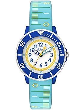 s.Oliver Time Jungen-Armbanduhr SO-3403-PQ