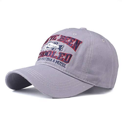 ute qualit Baseball Cap für Mich ausgestattet Kappe Snapback Hut für Frauen Gorras Casual Casquette Stickerei Fisch Kappe,d4 ()