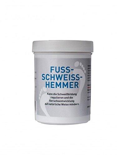 Fuss Schweiss Hemmer - Antitranspirant für die Füße und Schuhe - 1er Pack 50g für frische und trockene Füsse -
