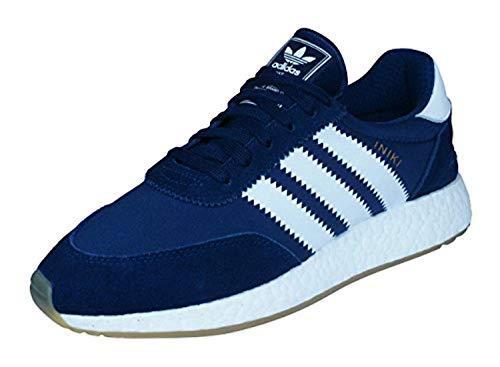 adidas Herren Iniki Runner Fitnessschuhe, Blau (Maruni/Ftwbla/Gum3 000), 36 EU