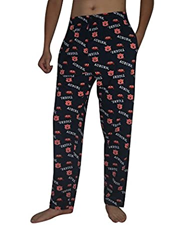 NCAA Mens Auburn Tigers Cotton Sleepwear / Pajama Pants M Multicolor