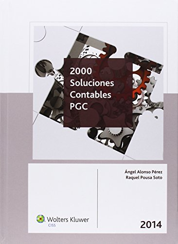 2000 Soluciones Contables PGC 2014 por Angel Alonso Perez
