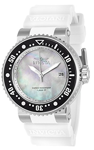 Invicta Damen-Armbanduhr Analog Quarz - Invicta Silikon Watch Bands