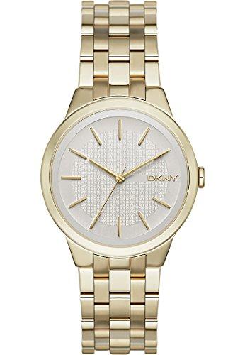DKNY Damen-Armbanduhr Digital Quarz Edelstahl NY2382