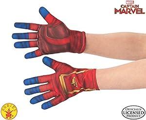 Rubies - Guantes Oficiales del Capitán Marvel, Accesorio de Disfraz para niños, Talla única