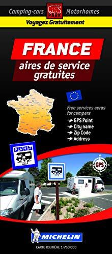 Carte France des aires de camping-car gratuites par Trailer's Park