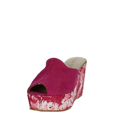 Cinzia Soft 4960 Mules Femme Fuchsia