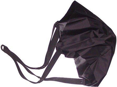 Parachute de rechange, seulement partie finale, Noir 40cm