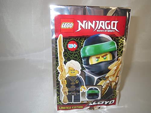 Preisvergleich Produktbild LEGO Ninjago Figur Lloyd mit Schwert und Maske - Limited Edition - 891834 - Polybag