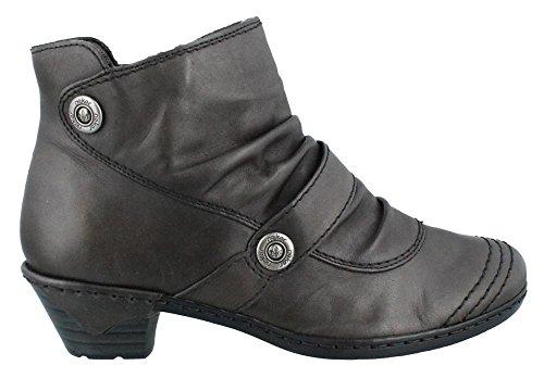 Rieker 76963-25 Damen Klassische Halbstiefel & Stiefeletten Grigio (Fumo)