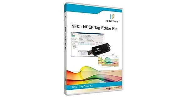NDEF NFC Tag Editor Kit - NFC Reader 13 56 MHz SCM: Amazon