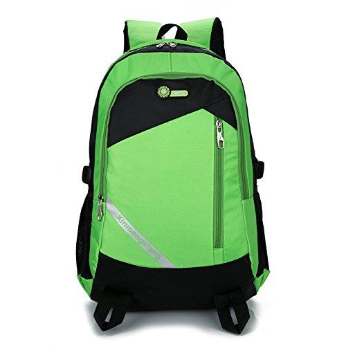 Marke MinegRong Männer Schule Taschen Frauen Rucksack Licht Mode Rucksack für 15 Zoll Laptop atmungsaktiv Rucksack Schultasche Mochila Großhandel, grün - Großhandel Girls Fashion