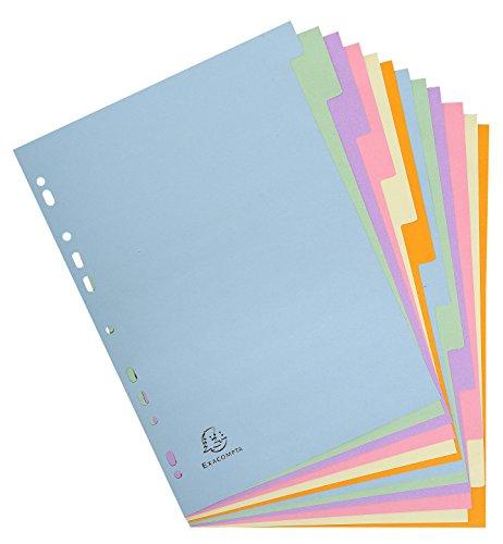 Preisvergleich Produktbild Register Forever Recy.Kart. f.A4 12 Tabs