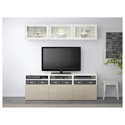 Ikea Besta Tv Storage Combinationglass Doors Whiteselsviken High