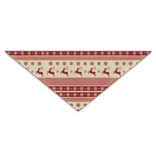 Kabel Stricken Pullover Muster (nxnx Hund Bandana Schal Dreieck Lätzchen Weihnachten Hirsch Pullover Muster Print Kopftuch, Haustiere Geburtstag Accessoires)