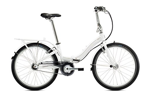 BICICLETA PLEGABLE TERN CASTRO D3I 24 3 G RH 35 CM EN WHITE/BROWN O BLACK DE GREY  WHITE BROWN